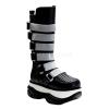 NEPTUNE-310UV Black Faux Leather/UV White